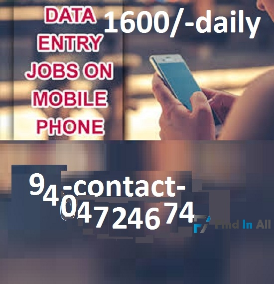 Online job from student for home
