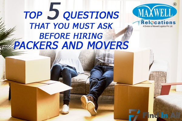Maxwell Packers and Movers Services