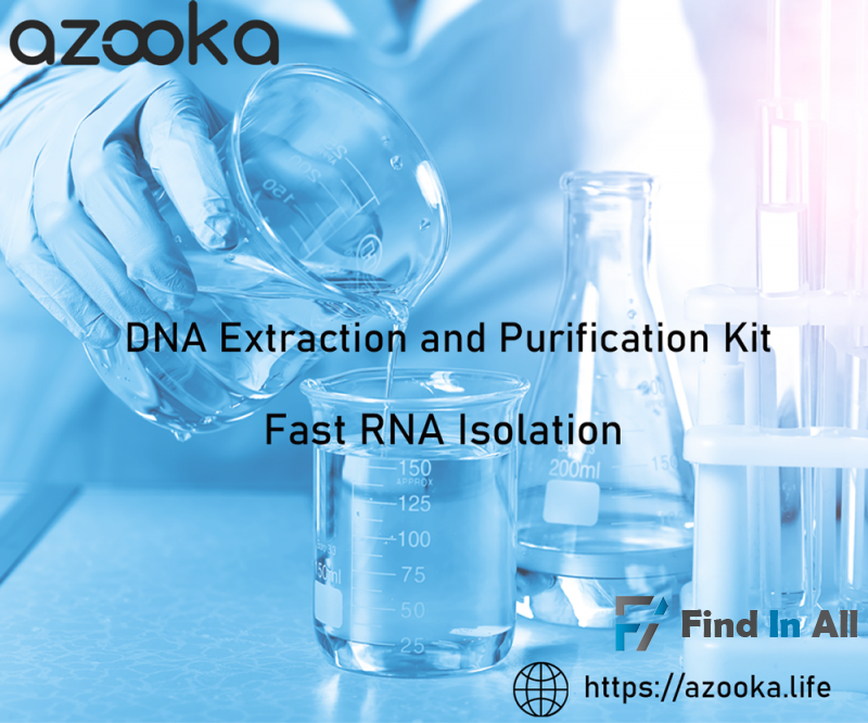 Safe and Fast RNA extraction kit - Total RNA extraction - azooka.life