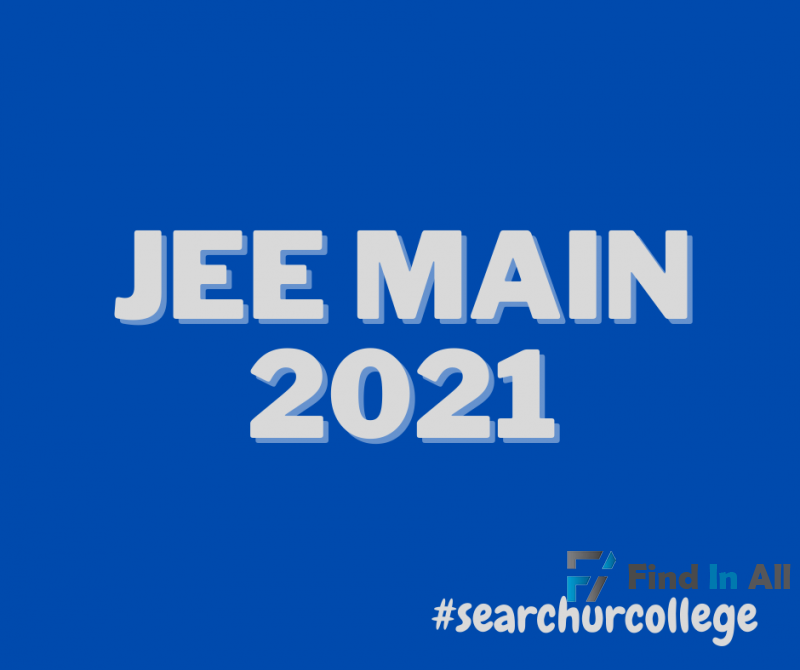 JEE MAIN 2021 (SAMPLE QUESTION PAPER)