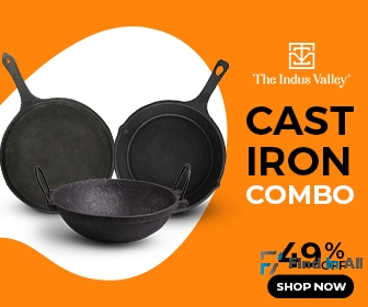 The Indus Valley Natural cookware combos