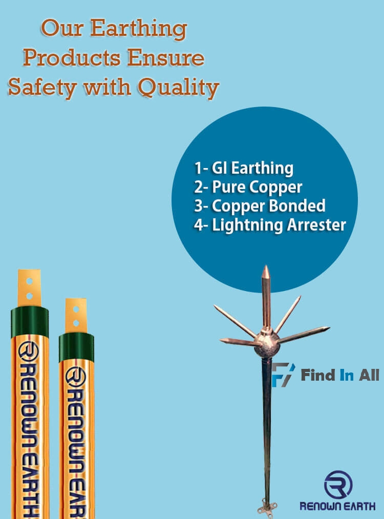 Chemical Earthing Electrode Manufacturers
