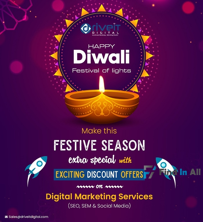 Festive offer on Digital Marketing Services !!