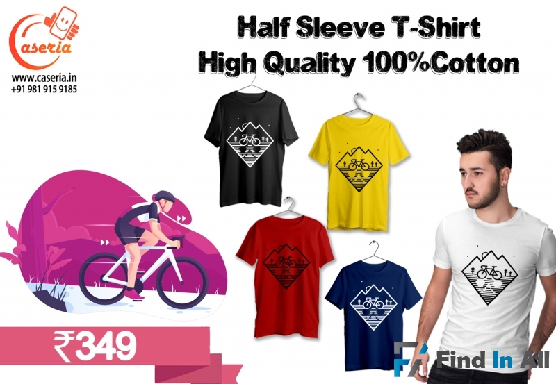 Buy Wholesale Plain and Printed T-shirt