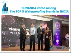 Top 5 waterproofing brands in INDIA | Sunanda Global