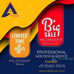Mega Offers - 15% Off for Professional Web Design & Development Services