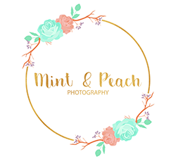 Mint and Peach Photography